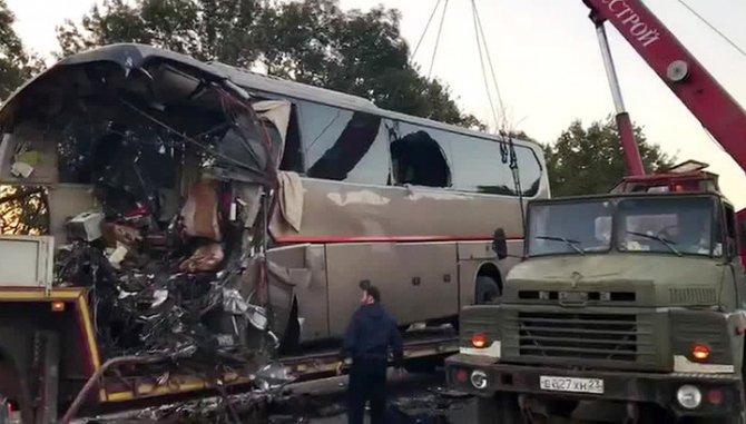 Водитель автобуса, попавшего в ДТП на Кубани, мог уснуть за рулем.jpg
