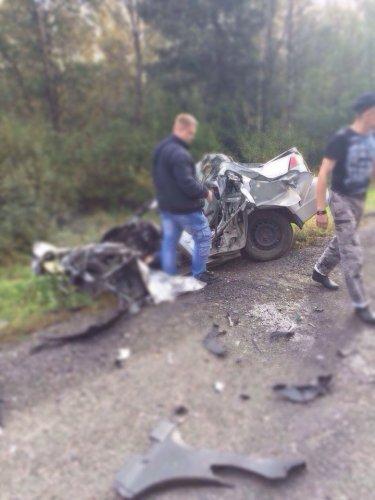 Водитель Mitsubishi погиб в ДТП в Лужском  районе (4).jpg