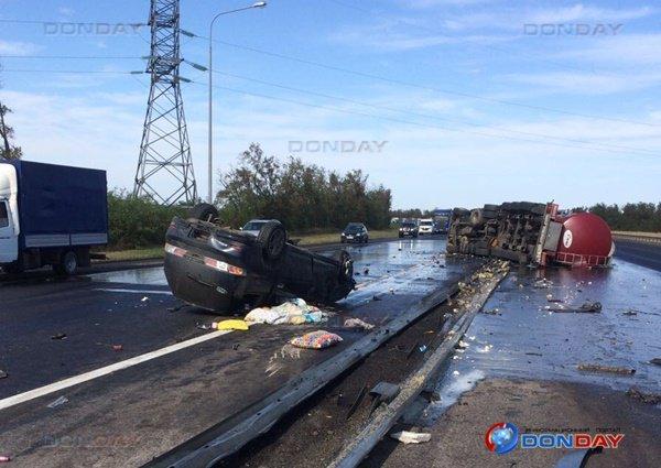 2-летний ребенок погиб в ДТП с бензовозом под Ростовом (1).jpg