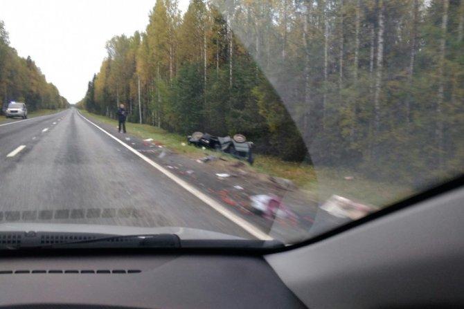 Водитель иномарки погиб в ДТП с УАЗом в Холмогорском районе.jpg