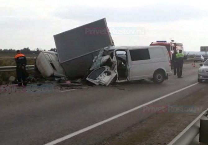 Водитель иномарки погиб в ДТП на трассе Ростов – Волгодонск.jpg