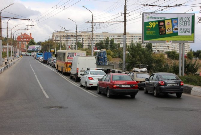Два человека пострадали в массовом ДТП на мосту «Саратов – Энгельс» (7).jpg