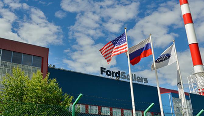Завод Ford Sollers в Елабуге