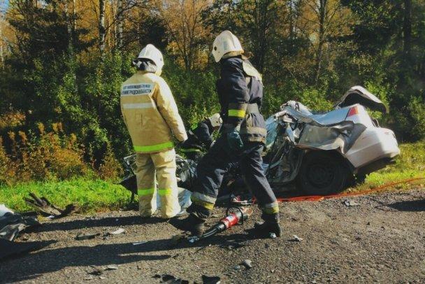 Водитель Mitsubishi погиб в ДТП в Лужском  районе (2).jpg