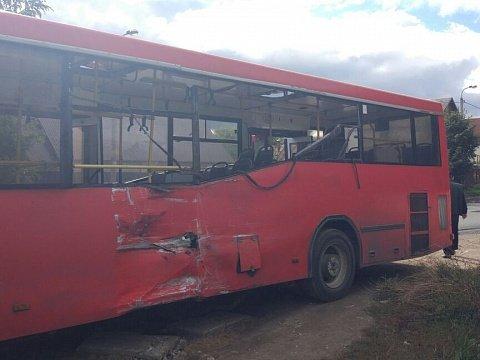 В Казани на улице Боевой столкнулись два автобуса (3).jpg