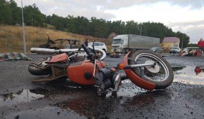 Мотоциклист погиб в ДТП с иномаркой в Башкирии