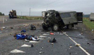 Два пассажира УАЗа погибли в ДТП в Мордовии