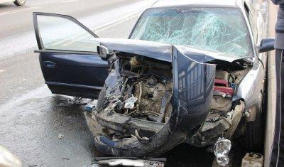 Два человека пострадали в массовом ДТП на мосту «Саратов – Энгельс»