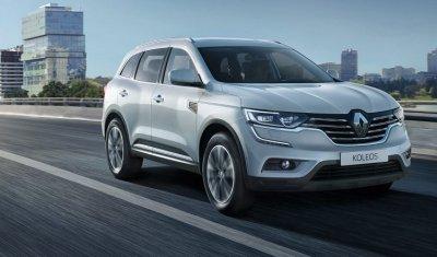 Кроссовер Renault Koleos с дизельным двигателем поступил в продажу