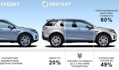 Новые стандарты кредитования на автомобили Land Rover