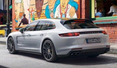 Гибридный Porsche Panamera в спортивно-туристической версии стал доступен в России