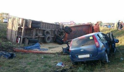 Шесть человек пострадали в ДТП с КамАЗом в Башкирии