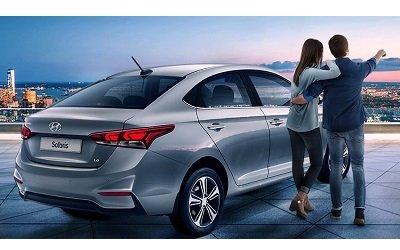 Новый Hyundai Solaris за 2500 рублей*
