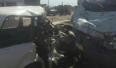 В ДТП в Дагестане погиб взрослый и пострадали трое детей