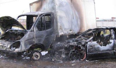 Два человека погибли в сгоревшей после ДТП иномарке в Камышине