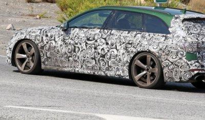 Шпионские фото новой Audi RS4 Avant выложены за несколько дней до презентации