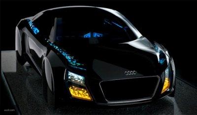 Audi представила концепт автомобиля без руля и педалей