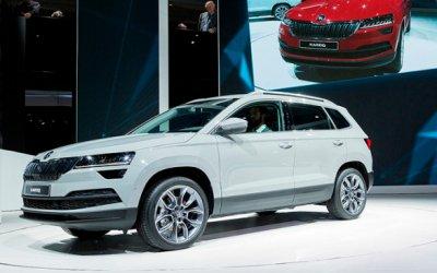 Автосалон во Франкфурте: SKODA презентовала 3 SUV и 1 электрокар