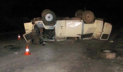 В Бугурусланском районе погиб водитель опрокинувшегося УАЗа