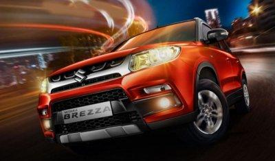 Новый кроссовер Suzuki Vitara Brezza будет мощней и дешевле