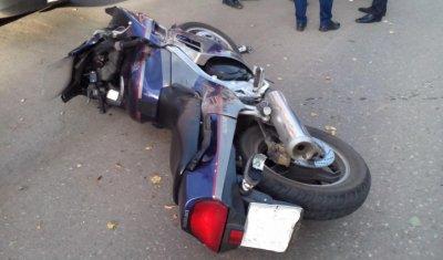 Мотоциклист погиб в ДТП в центре Сарапула