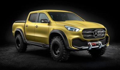 Новый Mercedes-Benz с грузоподъёмностью больше тонны появится на российском рынке
