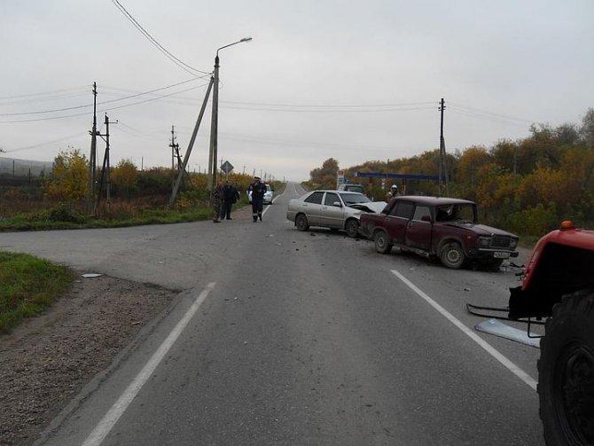 12-летний мальчик пострадал в ДТП на трассе «Тула-Белев»