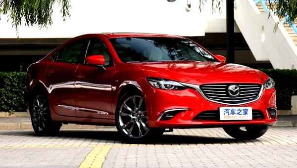 В Сети появились фото новой Mazda 6 (6)