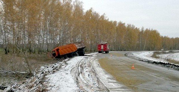Пять человек пострадали в ДТП с КамАЗом в Курской области (1)