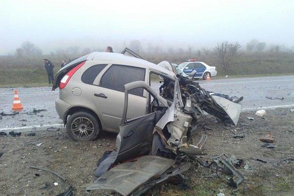 Три человека погибли в ДТП на трассе в Ульяновской области