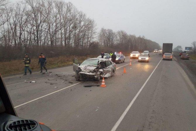 Водитель ВАЗа погиб в ДТП под Ачинском (1)