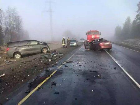 Три человека погибли в ДТП на трассе «Кола».jpg