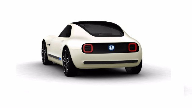 Honda представила электрический спорткар Sports EV (1)
