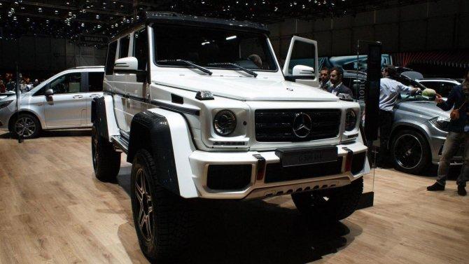 Mercedes-Benz G500 4×4² (10)