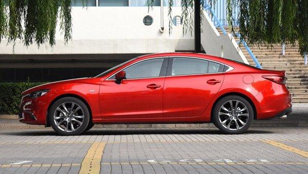 В Сети появились фото новой Mazda 6 (5)