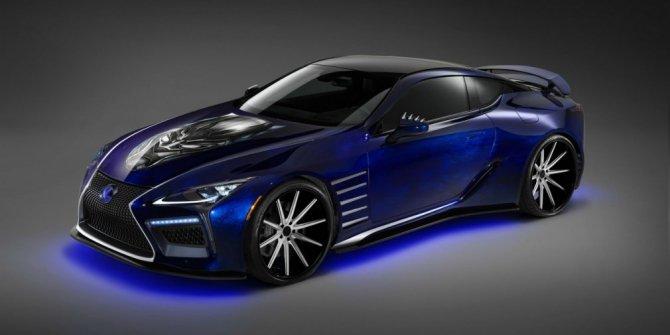Lexus создали купе для Черной Пантеры (2)