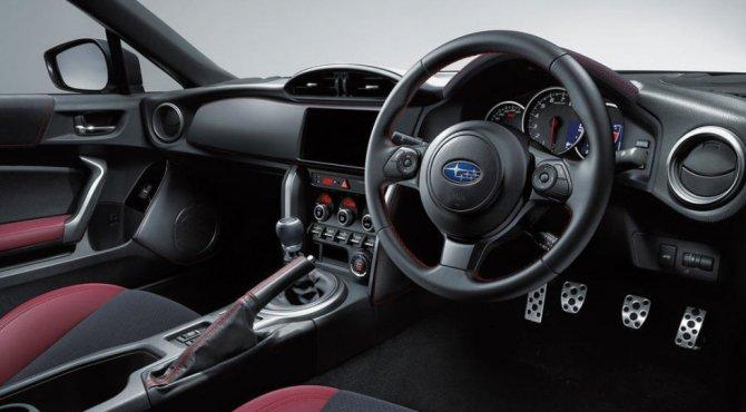 В Токио была представлена новая версию Subaru BRZ STI Sport (3)