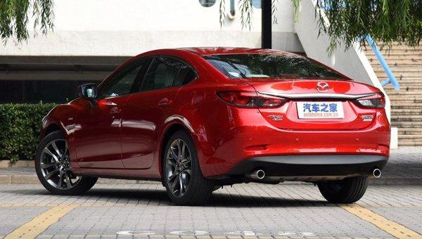 В Сети появились фото новой Mazda 6 (4)