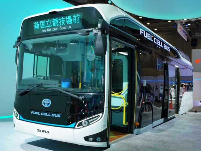 Toyota SORA FC Bus
