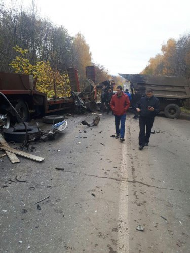 Один человек погиб в ДТП в Альметьевском районе Татарстана (2)