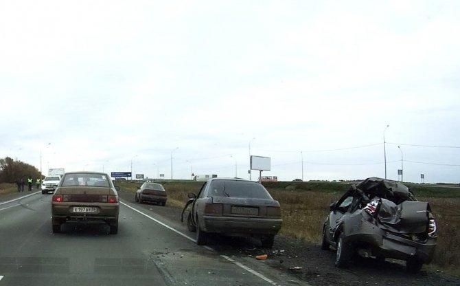 Пассажирка «Лады» погибла в тройном ДТП в Челябинской области (3).jpg