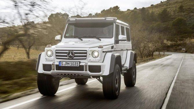 Mercedes-Benz G500 4×4² (7)