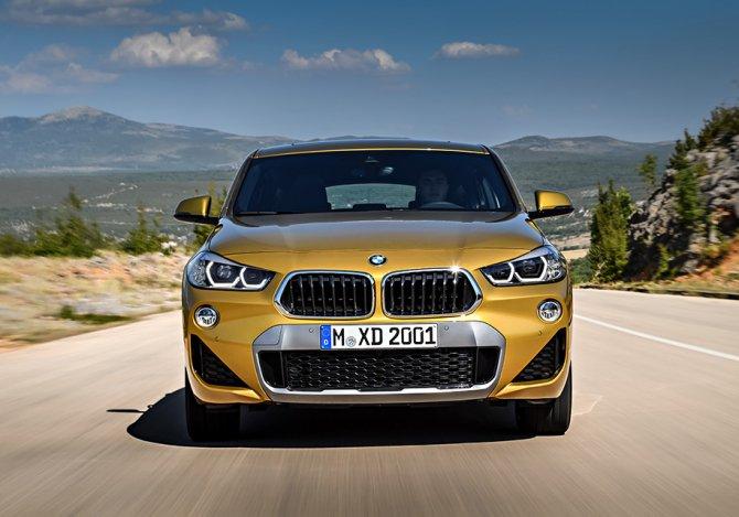 BMW X2 передок