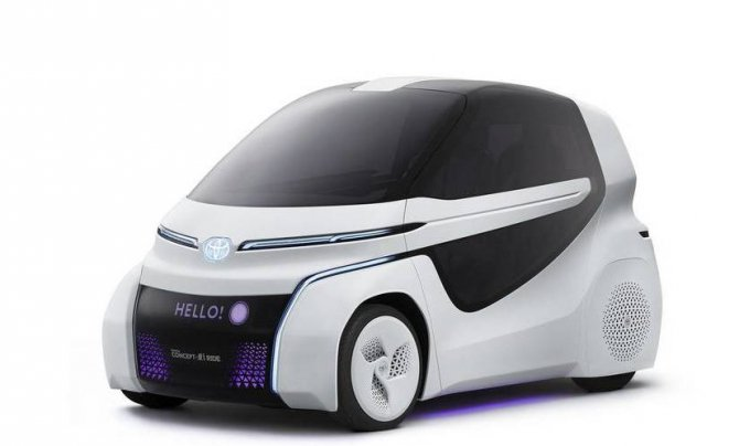 Toyota представила маленький электрический ситикар для инвалидов (4)