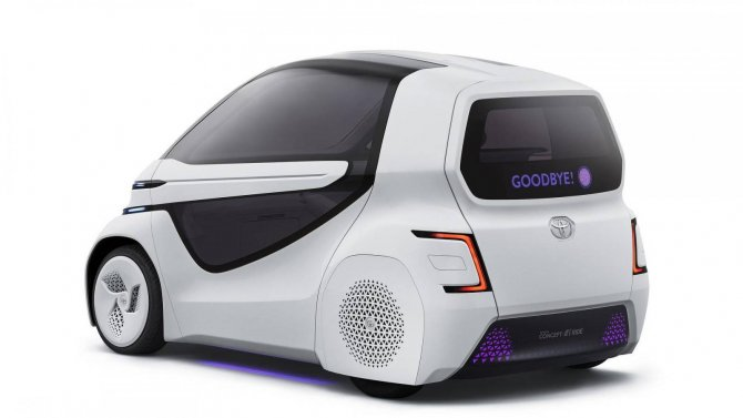 Toyota представила маленький электрический ситикар для инвалидов (6)