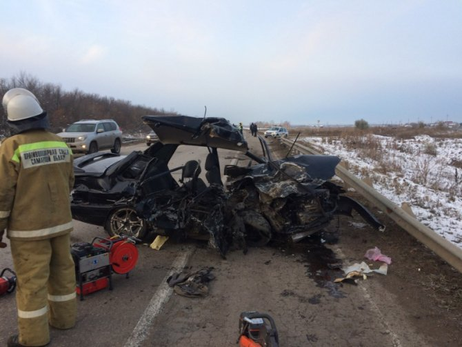 Три человека погибли в ДТП в Кинель-Черкасском районе (2)