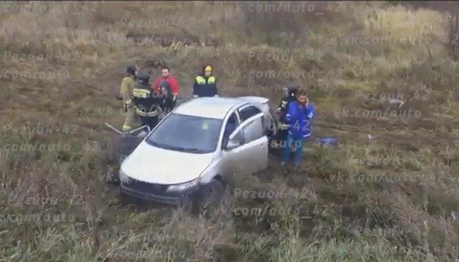 В Кузбассе при столкновении иномарок погибли два человека