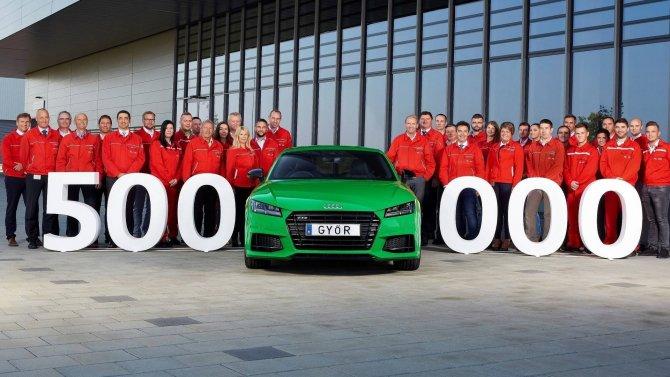 Венгерский завод Audi выпустил 500-тысячный автомобиль.jpg
