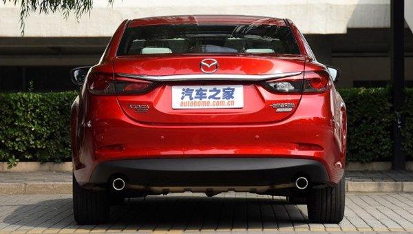 В Сети появились фото новой Mazda 6 (3)