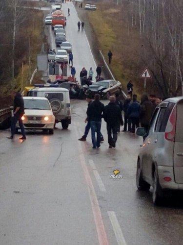Водитель иномарки погиб в ДТП под Кольцово (1)